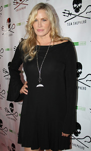 "Actress Daryl Hannah arrives on the red carpet.  Sea Shepherd launch party for the ""Operation No Compromise"" Antarctic Whale Defense Campaign and the Gojira Interceptor Vessel unveiling in Los Angeles, CA. on October 23, 2010"