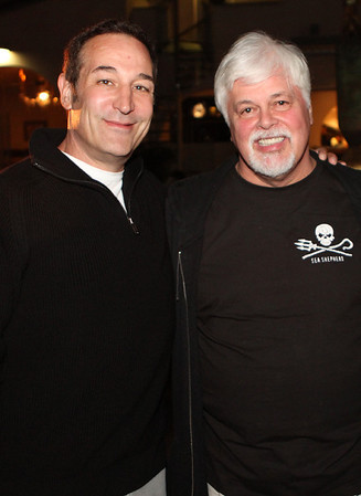 Sam Simon and Paul Watson © Erin Suggett Photography