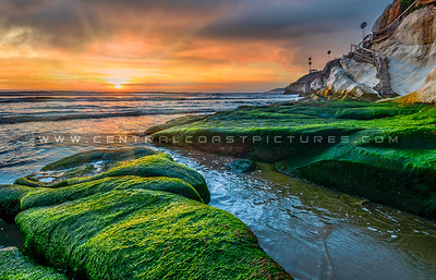 1-20x30 old pismo stairs sunset-1710