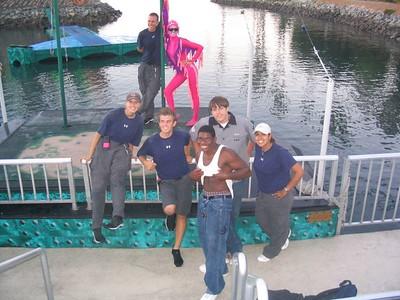 Some Cirque cast and crew