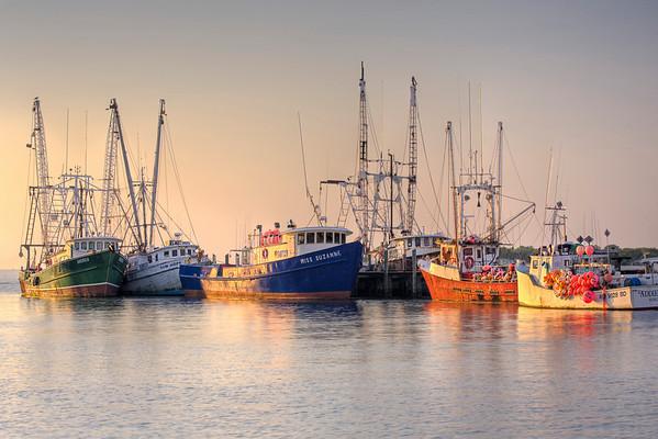 sea and harbor