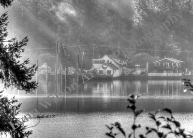 Seabeck Marina Sun Rays