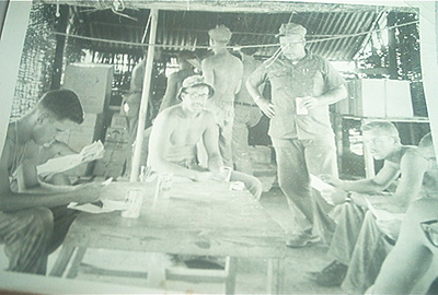 Bobby Fletcher's crew at Thuong Duc Special Forces Camp - '66.