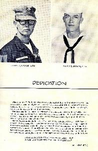1965 MCB-11 Cruisebook Dedication