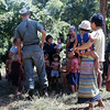 Seabees Communicate with Local Villagers-Thailand 1967