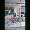 Children Sit on Ltjg Geibels Motorcycle-Chiang Kham, Thailand 1967