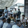 Farewell Party for Seabee Team 11-09, Chiang Kham, Thailand 1967