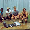 Ponape 1970..Glen Wallin-Paul Petretti on a fishing trip
