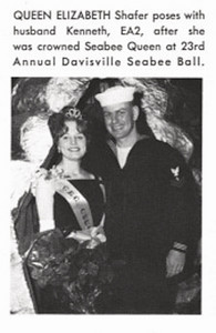 Queen Elizabeth Shafer-1965 Davisville Seabee Ball