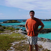 pilgrimage to Nonsuch Island, Bermuda (here overlooking the Castle Harbour Islands) September 2002.