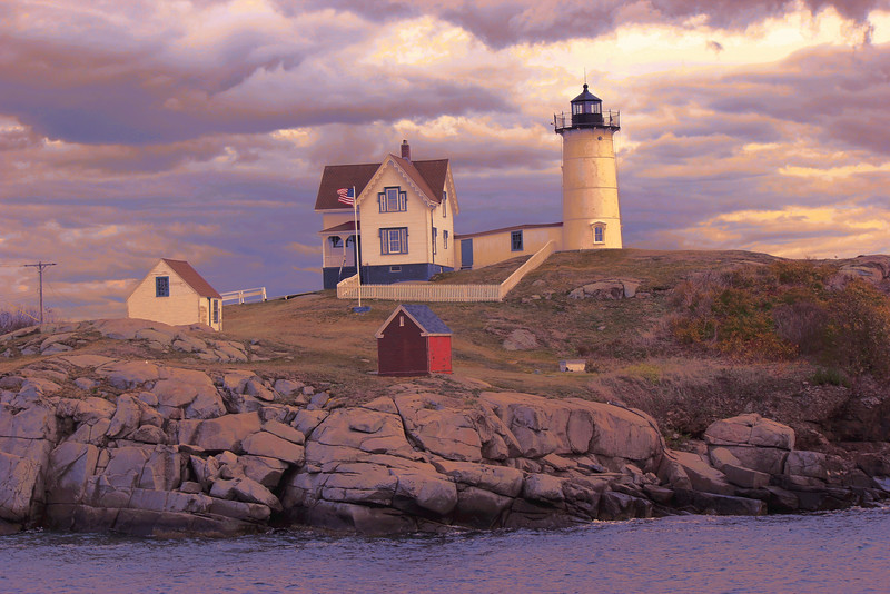Cape Neddick Lighthouse ~ Nubble Light ~ York, Maine