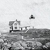 NubbleLight in charcoal - York, Maine
