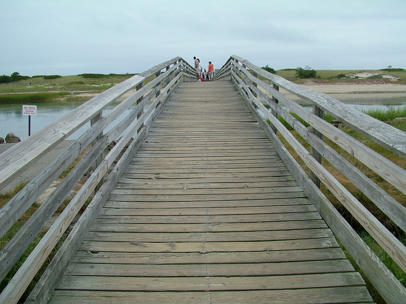 Footbridge ~ Ogunquit, Maine