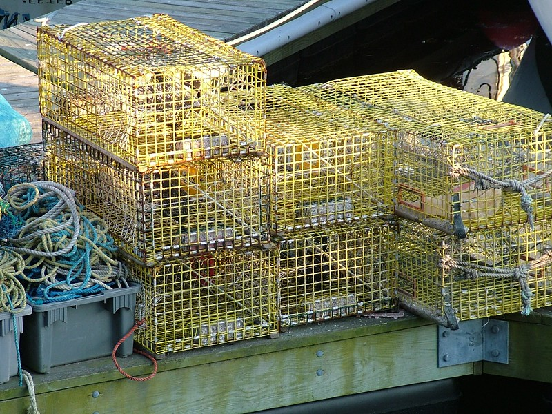Lobster Traps - Gloucester, MA