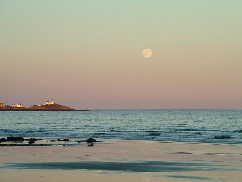 Nubble Light - from Long Sands - York Beach, Maine