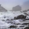 Shell Beach Fog, California