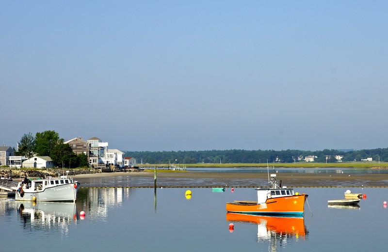 Seabrook - Orange Boat