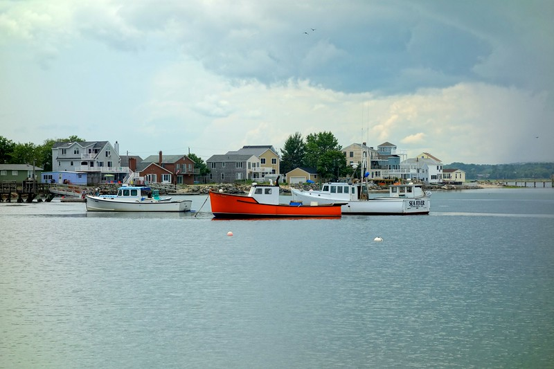 Seabrook Lobster Boats