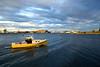 Yellow Fishing Boat, Portsmouth