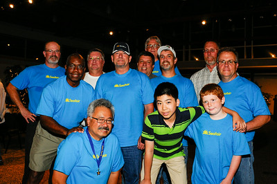 Seafair Photo Committee at appreciation dinner