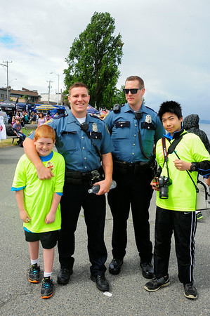 Seattle's Finest with Will and Sterling at 2014 Pirates Landing