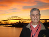 Captain Ivan Samuels, who was a LTJG while aboard the Altair 1955-56.  This photo was taken October 29, 2009, sunset, aboard the USS Lexington CV16 while at a U.S. Navy League meeting in Corpus Christs, Texas.  That is why he could not make the Branson reunion. --  Charles M. Brecheisen