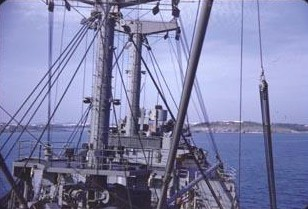 In 1956, the Altair ran aground in Bermuda.