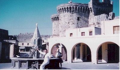 QMC1 Bernard Ruckhardt in Rhodes November 1961.