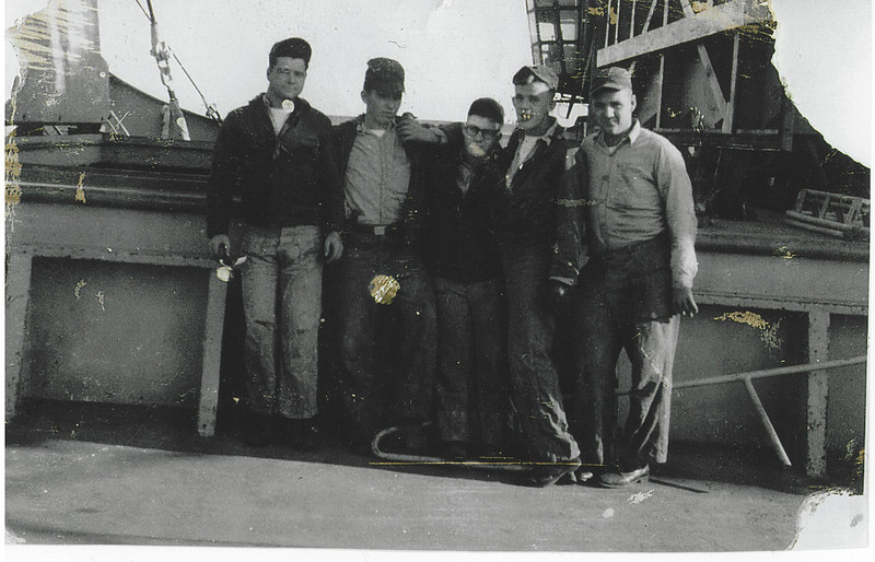 L-R  Jim (Red) Foley, James Gerrain, Joe Basso and Buddy Petrie
