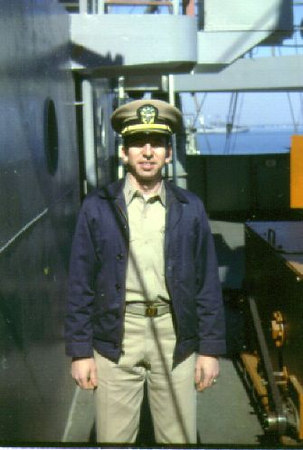 LTJG Robert Rati in 1963.