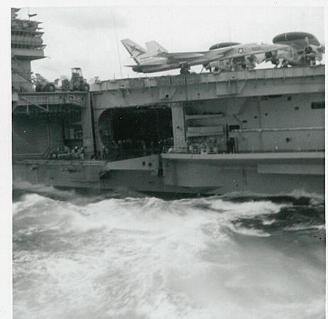 Flight Deck Platform -- Shangula (CVA-38)