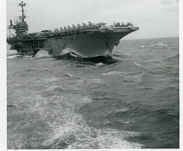 USS Shaugula (CVA-38) Aegean Sea, 2/17/1964