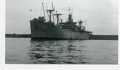 The rust bucket of the 6th fleet, USS Altair