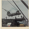 USS Sylvania's helicopter on USS Altair