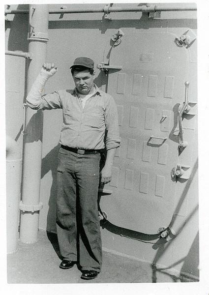 Evans, radioman