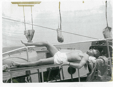 M. A. Neyland LT. En Route to Gitmo, Cuba