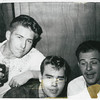 Paul Wierderks, Frank Taylor & Don Baker 1962  Barcelona Spain at Binx Taylor's Party