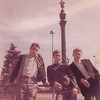 "(l-r) Mike Faraguna SM3, Unknown, Jimmy Norton  Please help with naming the ""unknowns"" and relating any stories about Jimmy and his brother Wayne to ashleyrmcclure (at) yahoo (dot) com"