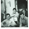 L to R, front, is Mike Troiano and JJ Kennedy and L to R rear is Lou Colandrea and Howard Straub
