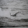 "I found this photo of the ship's helo that went down in 1964. I'm not sure if I  took it or I got a copy from someone else.  I did take videos of the crash. I found that video but Its part of a long tape that includes various pictures I took while aboard the Altair.  Mark Simon<br /> <br /> Mark was kind enough to send me a VHS tape he made of the Super 8 movie.  I have reprocessed the VHS tape into DVD format and PC format.  It is in 7 parts.  The video of the helo going down is at 4 Minute and 28 seconds  of ""Mark Simon Part 4"". --  Webmaster"