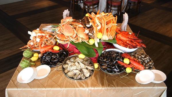 Seafood Table Video
