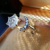 """""""A Vous/To You"""" Moon and Stars Chalcedony Ring, by Seal & Scribe 4"""