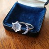 """""""A Vous/To You"""" Moon and Stars Chalcedony Ring, by Seal & Scribe 5"""