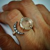 Comfort Moon Ring, by Seal & Scribe 10