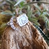 Faithful Chalcedony Moon ring by Seal & Scribe 25