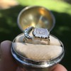 Faithful Chalcedony Moon ring by Seal & Scribe 13