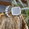 Faithful Chalcedony Moon ring by Seal & Scribe 23