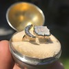 Faithful Chalcedony Moon ring by Seal & Scribe 18