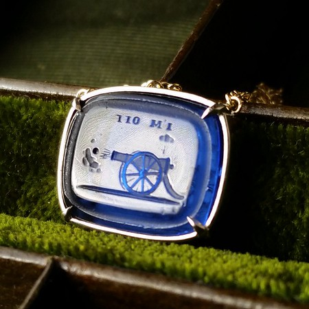 I'm Off! / Canon Necklace, by Seal & Scribe