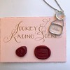 Racing Day Jockey & Horses Pendant, by Seal & Scribe 4